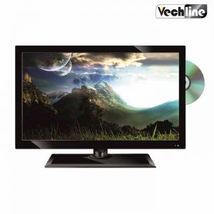 Televisore Slim Led Hd 15 Pollici con Dvd