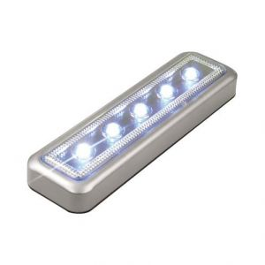 Luce di Cortesia Universale 5 Led Push On